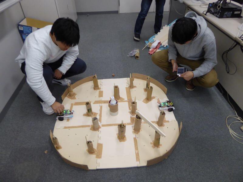 ロボット開発で学ぶプログラミング・論理的思考・ 問題発見力・問題解決力
